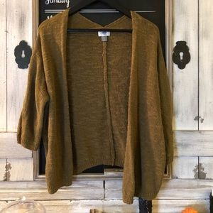 Old Navy Olive Green Cardigan